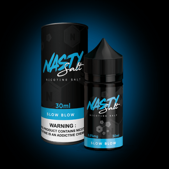 NASTY JUICE SALT - SLOW BLOW SaltNic | Vape Marche | vapemarche.net