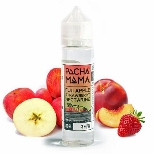 PACHAMAMA - FUJI APPLE STRAWBERRY NECTARINE - 60ML