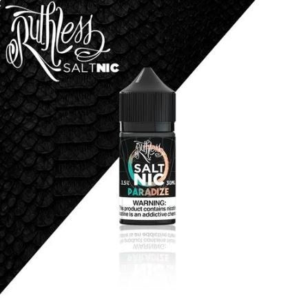 PARADIZE SALTNIC BY RUTHLESS EJUICE - 35MG - Vape Marche