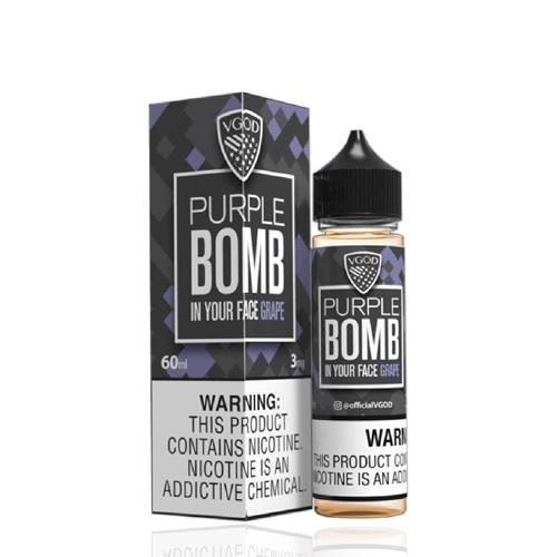 PURPLE BOMB - VGOD 60ML - 0MG - Vape Marche