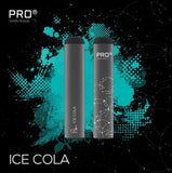 THE PRO CIG DISPOSABLE POD DEVICE - SWISS DESIGN - ICE COLA
