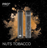 THE PRO CIG DISPOSABLE POD DEVICE - SWISS DESIGN - NUTS TOBACCO