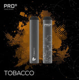 THE PRO CIG DISPOSABLE POD DEVICE - SWISS DESIGN - TOBACCO