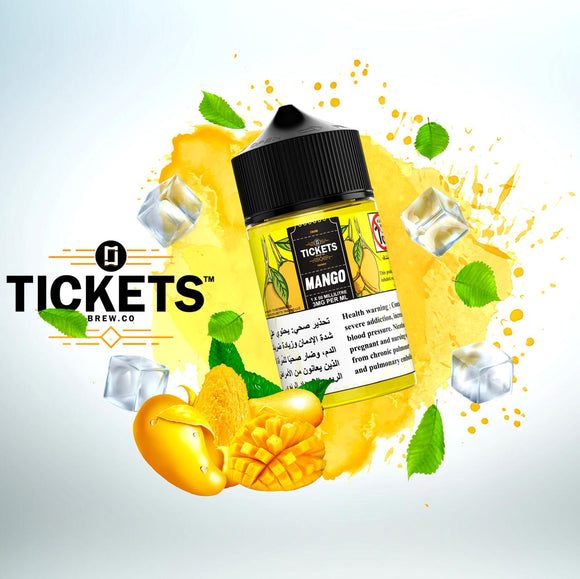 TICKETS E JUICE - MANGO 50ML