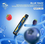 TUGBOAT XXL DISPOSABLE PODS 2500 PUFFS - BLUE RAZZ