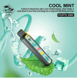 TUGBOAT XXL DISPOSABLE PODS 2500 PUFFS - COOL MINT
