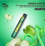 TUGBOAT XXL DISPOSABLE PODS 2500 PUFFS - GREEN APPLE