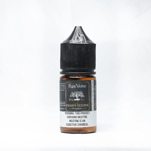 Handcrafted Saltz VCT Private Reserve by Ripe Vapes