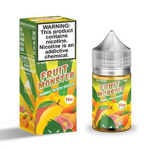 MANGO PEACH GUAVA BY FRUIT MONSTER SALTNIC - Vape Marche