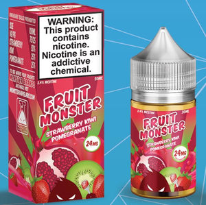 STRAWBERRY KIWI POMEGRANATE BY FRUIT MONSTER SALTNIC - Vape Marche