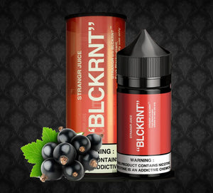 STRANGR JUICE SALT BLACKCURRANT - BLCKRNT - 35MG - Vape Marche