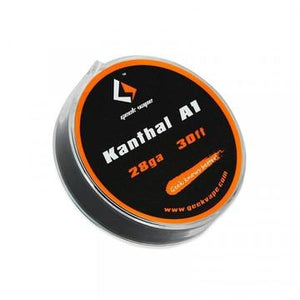 GEEKVAPE WIRE KANTHAL A1 - 30ft - ZK03 - 26GA - Vape Marche