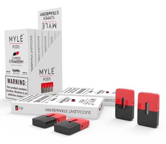 MYLE POD - SUMMER STRAWBERRY - Vape Marche