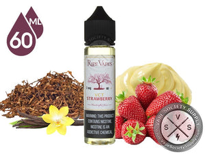 VCT STRAWBERRY BY RIPE VAPE 60ML - 3MG - Vape Marche