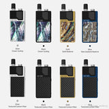 Authentic Orion DNA GO By Lost Vape - Blue/Textured Carbon FIber - Vape Marche