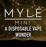 MYLÉ Mini – All-In-One Disposable Nicotine Delivery System - Vape Marche