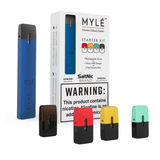 Authentic MYLE STARTER KIT- VARIETY PACK - BLUE - Vape Marche
