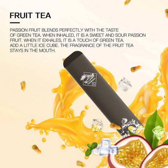 TUGBOAT V2 DISPOSABLE POD DEVICE - FRUIT TEA - Vape Marche