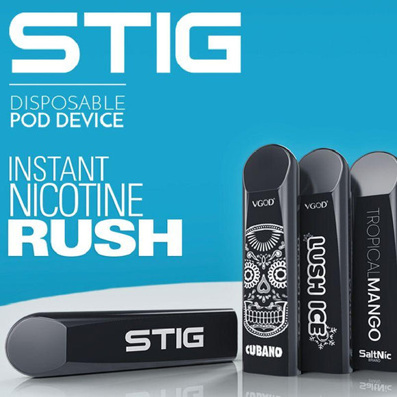 STIG DISPOSABLE POD - VGOD American Version