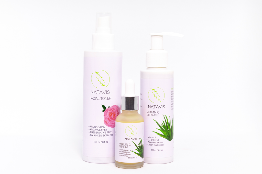 Youth Restoring Set - Serum 30ml + Cleanser 180ml + Toner 180ml
