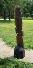 Load image into Gallery viewer, Chainsaw Carved Eagle, Soaring Eagle Wood Carving, many sizes