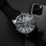 BLACK BODKER SPORTS WATCH
