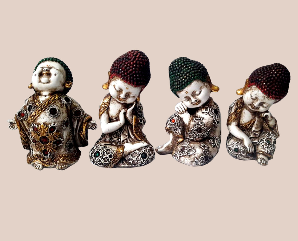 Four Happy Buddha Souls