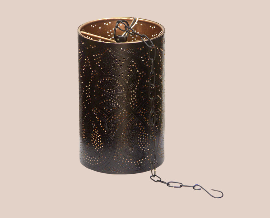 Ethnic dot pattern Decorated Lamp