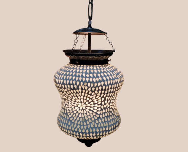 Rotund S Decorated Lamp