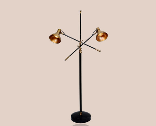 Twin Cupola Floor Lamp