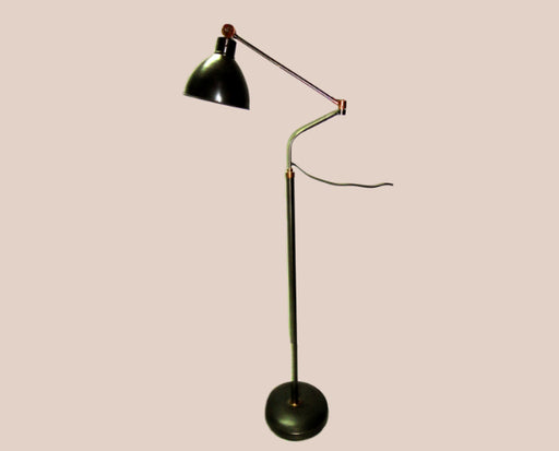 Black Wallop Floor Lamp