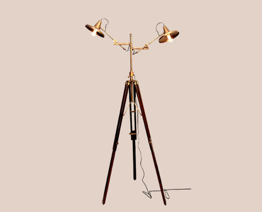 Twin Disc Floor Lamp