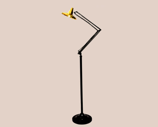 Golden Disc Floor Lamp