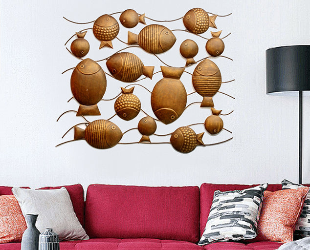 Fish Family Decor