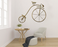 Retro Gold Bicycle Wall panel