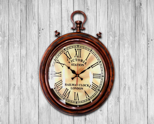 Wall clock Antique look