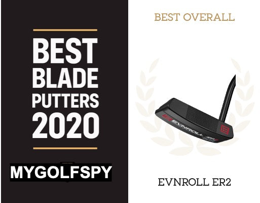 EVNROLL'S ER2 MAKES HISTORY BY WINNING MYGOLFSPY'S 'MOST WANTED' BLADE PUTTER TEST FOR THE SECOND TIME
