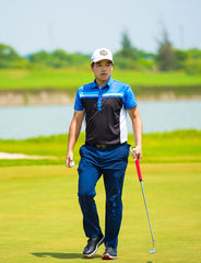Beon Lee using his Evnroll Putter