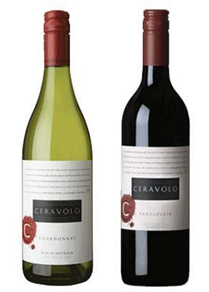 Ceravolo Chardonnay and Sangiovese Mixed Pack - The Online Wine Shop Pty Ltd