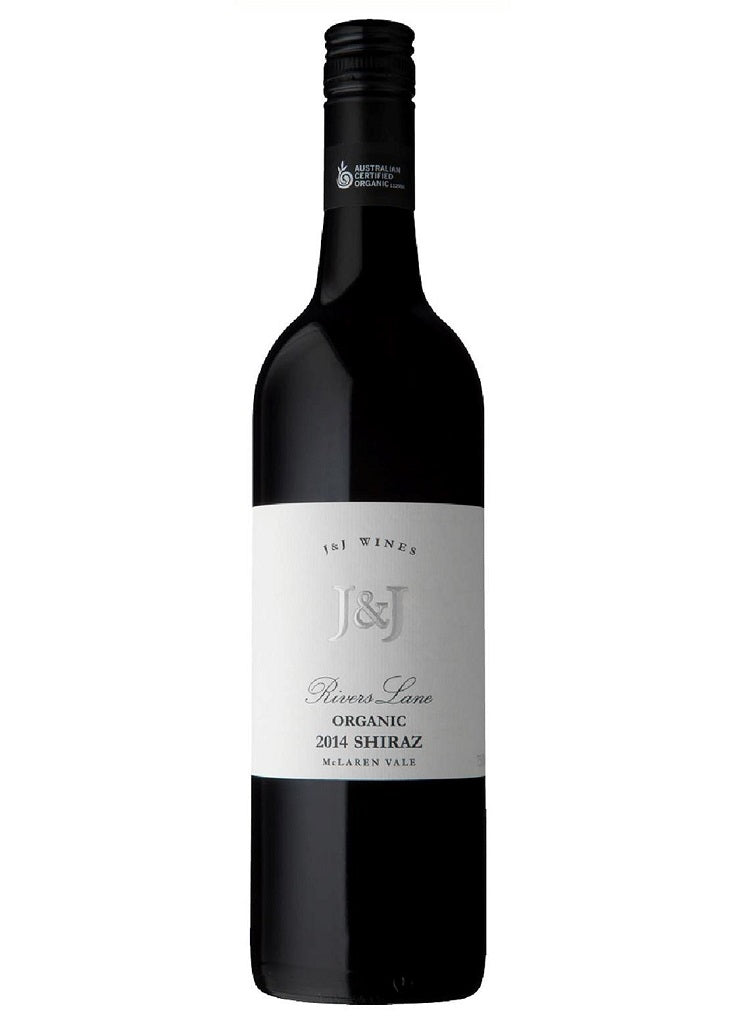 J&J 2014 Rivers Lane Shiraz Organic - McLaren Vale - Dozen - The Online Wine Shop Pty Ltd