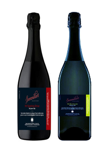 Sommeliers Selection Shiraz and Brut Mixed Dozen - The Online Wine Shop Pty Ltd