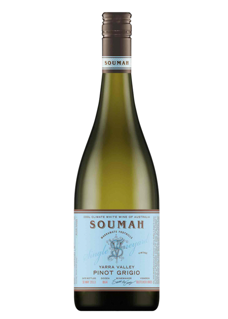 2015 Soumah Pinot Grigio - Yarra Valley - Dozen - The Online Wine Shop Pty Ltd