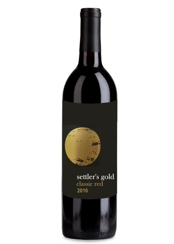 2016 Settlers  Gold  Classic Red - Victoria - Dozen - The Online Wine Shop Pty Ltd