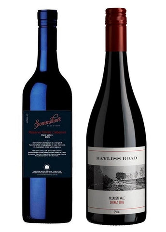 Sommeliers Selection Reserve Shiraz Cabernet - Clare Valley/Bayliss Road 2015 Shiraz - McLaren Vale Mixed Dozen