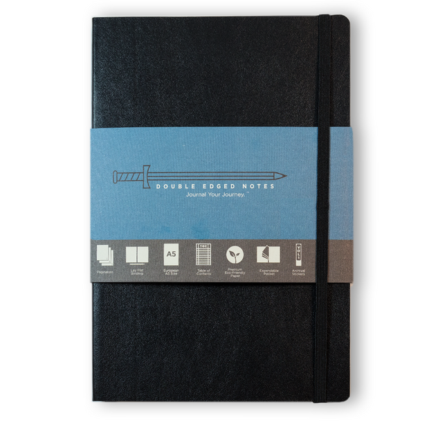 DEN Classic Softcover Journal (Black)