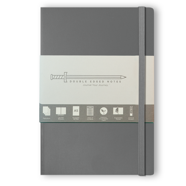 DEN Classic Softcover Journal (Gray)