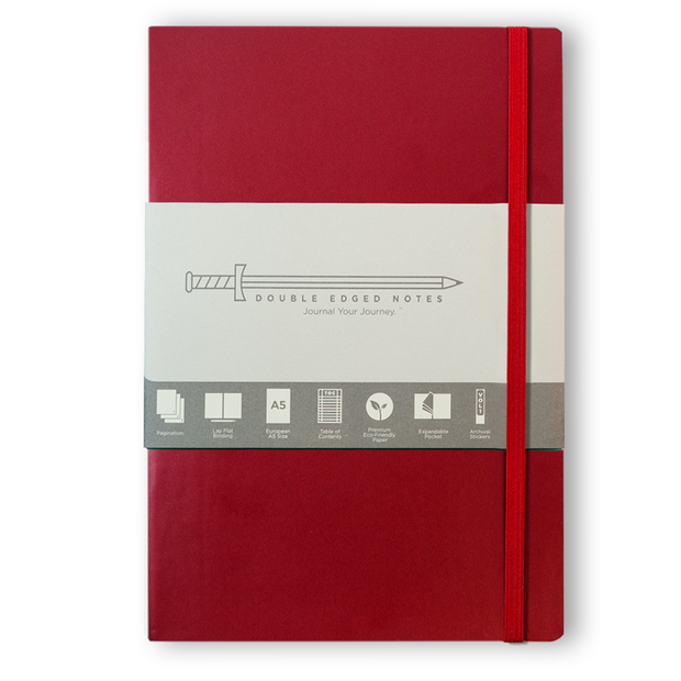 DEN Classic Softcover Journal (Red)
