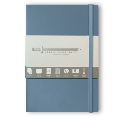 DEN Classic Softcover Journal (Slate Blue)