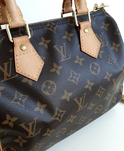 Louis Vuitton Speedy 25 bandouliere in monogram