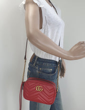 Load image into Gallery viewer, Gucci GG marmont mini matelasse bag